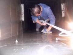 成都成华区单位商场油烟管道清洗公司提供清洗报告书