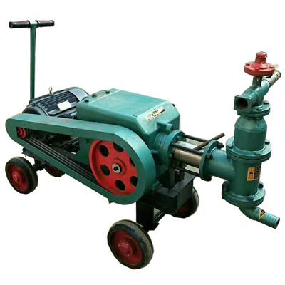 BW150注浆机 BW70-8卧式双缸砂浆泵 气动注浆机