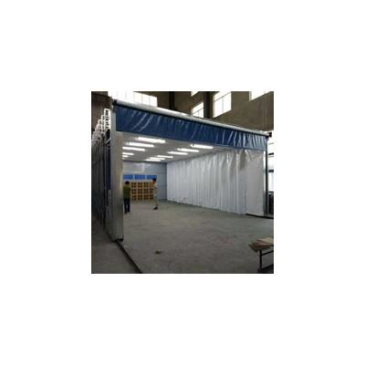环保伸缩移动式喷漆房定制