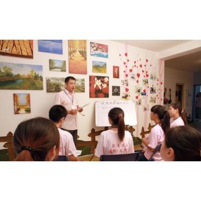文化墙彩绘 手绘墙培训班 手绘墙学习内容 学墙绘时长