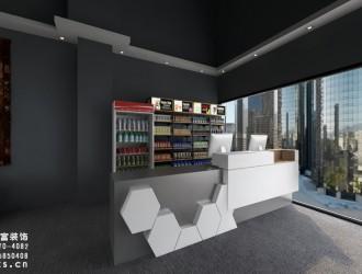 嘉兴工业风格台球室装修设计案例效果图