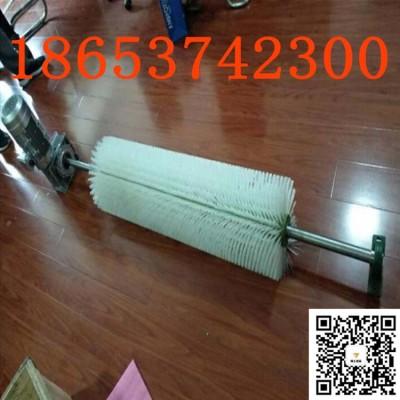 煤矿皮带机电动清扫器 电厂输送带毛刷清扫器带宽可定制