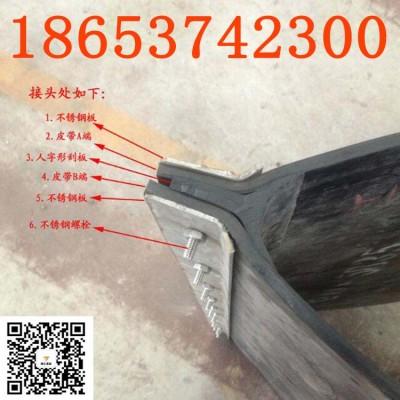 定制规格生产除铁器皮带厂家 胶条一体式刮板不锈钢刮板齐全
